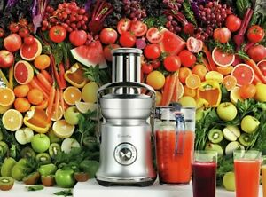 Breville BJE830BSS Juice Fountain Cold XL Brushed Stainless Steel Centrifuge
