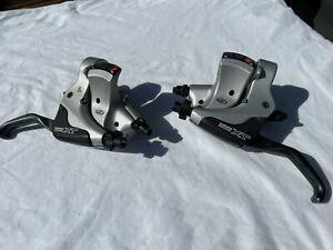 Shimano Deore XT ST-M750 STI-Einheiten, 3/9-fach, Schalt-/Bremshebel für V-Brake