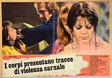 SERGIO MARTINO SUZY KENDALL TORSO ORIGINAL ITALIAN MOVIE POSTER PHOTOBUSTA 2
