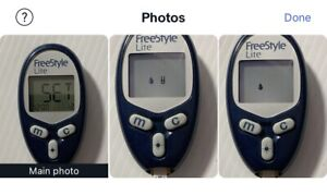 abbott freestyle lite glucose meter / monitor only