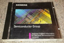 SIEMENS Semiconductor Group 6.1 B192-H6641-X5-X-7400 ORIGINAL CD 1995
