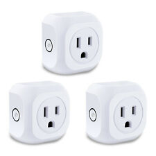 3Pack Smart WiFi Plug Switch Remote Control Timer Power Socket Alexa Google Home