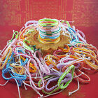 50 pcs SAI SIN Buddha Cord Bracelet Color Wristband Holy Buddhist Thai Amulet