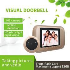 """3.5"""" HD LCD Digital Peephole Doorbell Night Vision Door Security Viewer Camera"""