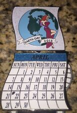 Disney Pin Dsf Jessica 2013 Calendar April Blue Surprise Le 300