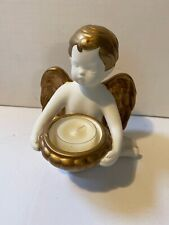 PartyLite Candles Baroque Angel Tealight Holder Retired
