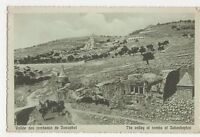 Palestine, Valley of The Tombs of Jehoshaphat Postcard, B215