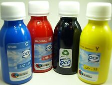 Tinta marca OCP para recargar cartuchos y CISS de la serie T129 Manzana