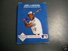 New 1991 Colla Collection JOE CARTER Limited Edition Set- Toronto Blue Jays