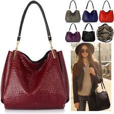 Ladies Women's Fashion Large Snake Quality Bags Handbags Tote Satchel Bag Chic