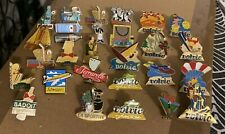 LOT PIN'S / EAUX MINERALES , GAZEUSES , VITTEL BADOIT , DONT EGF