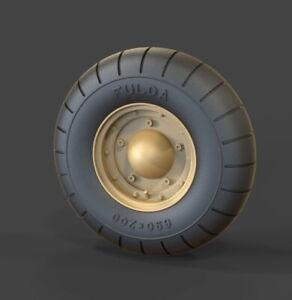 Panzer Art 1/35 Volkswagen Kubelwagen Balloon Road Wheels (Dunlop)