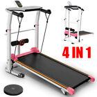 Folding Manual Treadmill Portable Running Home Fitness Walking Machine Sport  ❥