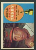 1960 Topps #322 Willie Tasby EX/EX+ Orioles AS 30968