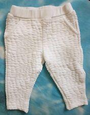 Pantaloni bianchi da bimba Fagottino 9/12 mesi