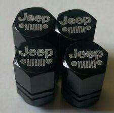 Jeep Chrome Engraved Valve Stem cap Covers,  #jp