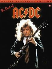 The Best of AC/DC: Guitar Tab Songbook Sheet Music Song Book