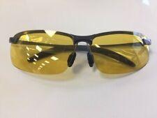 Gafas de Visión Nocturna Conducción Anti Brillo Gafas De Sol Controlador Amarillo