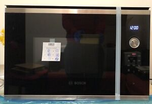 Bosch Serie 6 BFL554MS0B Built-In Microwave,Integrated,Stainless Steel/Black 25L