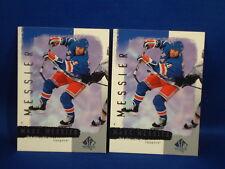 "Lot of 2 MARK MESSIER UPPER DECK SP 2001 ""SAMPLE"" sports card Hockey NHL RANGERS"