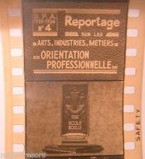 RARE FILM DOCUMENTAIRE : ECOLE BOULLE - Orientation Professionnelle 1935 1936