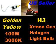 Golden Yellow Xenon 100w -Dodge 94-04 Viper/ 93-94 Colt Fog Light H3
