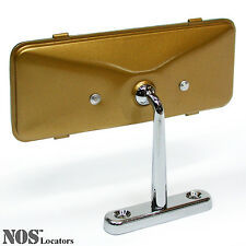 MGA Gold Painted Rear View Dash Mirror NEW - SALE