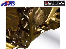 RENNTEC BLACK ENGINE CRASH PROTECTOR GUARDS BARS KAWASAKI ER6N ER650  Nov 2011-