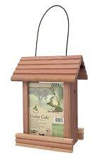 Cedar Cafe Bird Feeder 2 lb Capacity