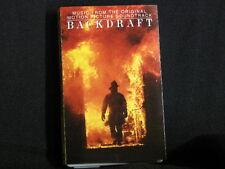 Backdraft. Film Soundtrack. Cassette tape. 1991. Made In U.S.A.