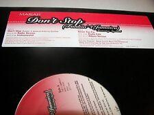 "Mariah Carey Don't Stop / Never Too  12"" Single NM Virgin 7087-6-16454 2001"