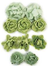 Kaisercraft Paper Blooms Flowers Olive Green Nini's Things