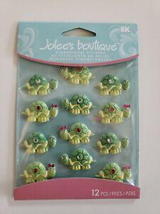 Jolees Boutique Turtle 🐢  Cabochons Scrapbooking stickers