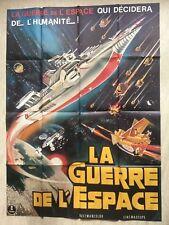La Guerre de l'espace (Affiche EO 1977) cinéma Wakusei daisenso MODELE RARE