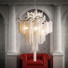 Moden Terzani Stream Suspension Light Creative tassel Chandelier Lamp 3 Sizes