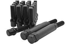 Black Spline Locking Lug Bolts Fits: Ferrari, VW, Audi, Mercedes M14x1.5 14x1.5