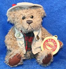 Brass Button Collectibles Bears 'Tanner' the Bear of Health Plush 1997