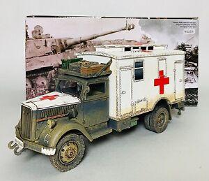 King & Country Opel Blitz Field Ambulance (WS258)