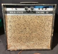 1960'S  ENCORE USA MADE GUITAR AMPLIFIER -NEEDS SERVICING-VTG SOLID STATE -HUM-