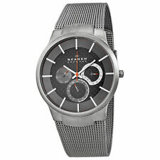 Skagen 809XLTTM Titanium Multifunction Stainless Steel Mens Watch