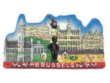 FRIDGE MAGNET Manneken Pis Brussels Belgium SOUVENIR RESIN 3D SOUVENIR TOURIST