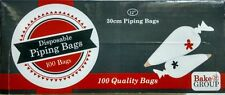 Disposable Piping Bags 12 Inch (30cm) - 100 piping bags