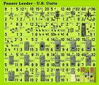 Panzer Leader U.S. Plan View Counters
