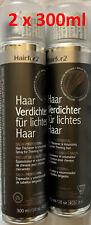 Hairfor2 Haarverdichtungsspray 300ml-dose dunkelbraun