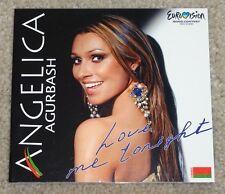 Eurovision Song contest 2005 Belarus Angelica Agurbash Love Me Tonight CD promo
