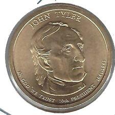 2009 Philadelphia 12Th President John Tyler Uncirculated Satin Dollar Coin!