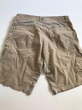 Kuhl Mens Size 34 Tan Shorts Defect