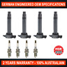 4x NGK Iridium Spark Plugs & Swan Ignition Coils for Mitsubishi ASX Lancer