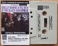 SHELLY MANNE - AT THE BLACK HAWK 1 (CONTEMPORARY OJC5656) 1991 USA CASSETTE JAZZ
