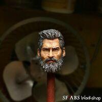 SFABS Old Logan (Kumik Mold) 1/12 Scale Head Sculpt | Mezco ML